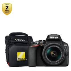 Nikon - Nikon Cámara D3500 Kit + Lente 18-55 Mm