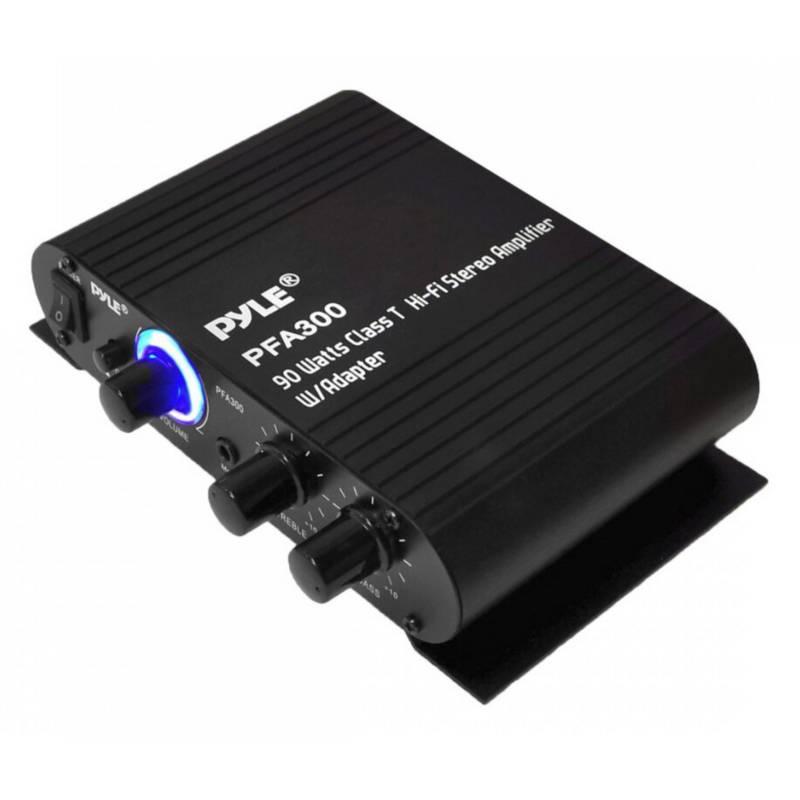 Pyle - Pyle Amplificador Estéreo 90W