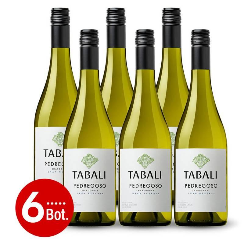 EL MUNDO DEL VINO - Caja x6 Tabali Pedregoso Gran Reserva Chardonnay