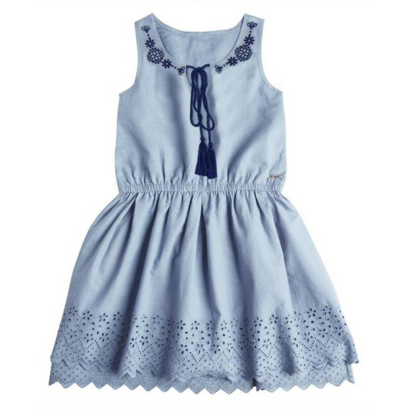 Exception - Vestido Niña Tela Lila Luna
