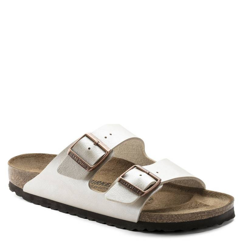 Birkenstock - Sandalia Mujer Arizona Graceful Pearl White