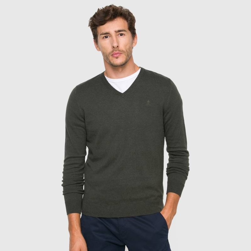 Scalpers - Sweater de Algodón Hombre