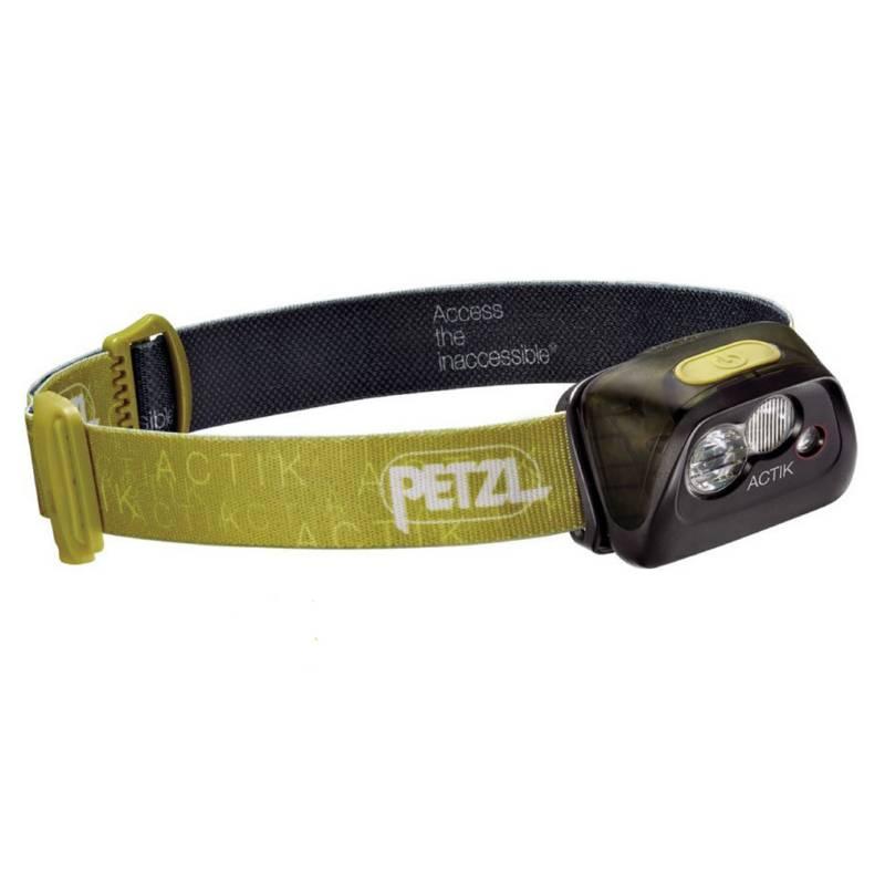 Petzl - Linterna Frontal ACTIK color verde