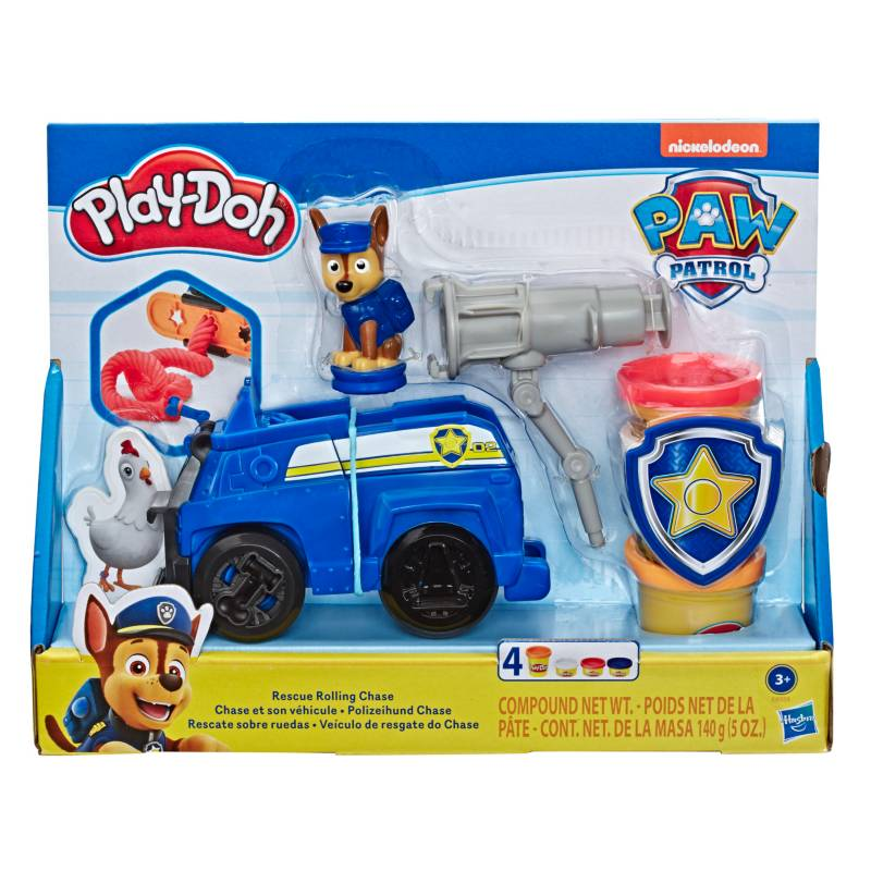 Playdoh Paw Patrol Chase Rescate
