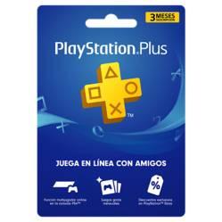 Videojuegos Suscripción 3 Meses Playstation Plus