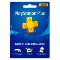 PLAYSTATION - Tarjeta PlayStation Plus 3 Meses Gift Card