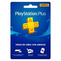 PLAYSTATION - Tarjeta PlayStation Plus 12 Meses Gift Card