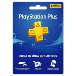 Videojuegos Suscripción 12 Meses Playstation Plus