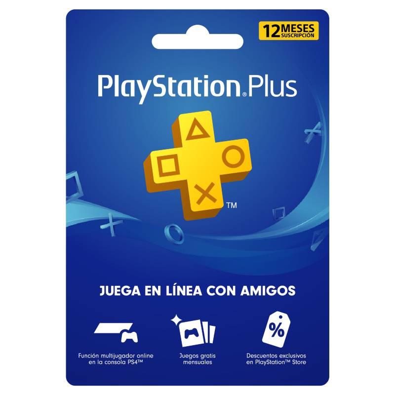 PLAYSTATION - Tarjeta PlayStation Plus 12 Meses Gift Card