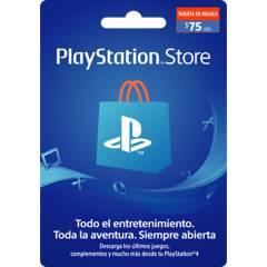 PLAYSTATION - Tarjeta PlayStation 75US Gift Card