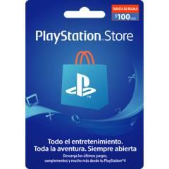 PLAYSTATION - Tarjeta Playstation 100US Gift Card