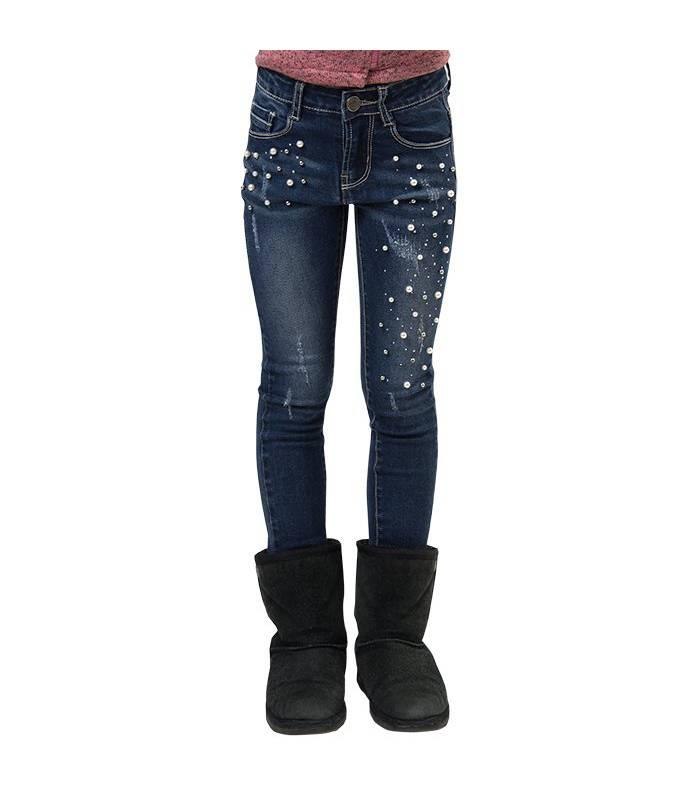 Exception - Jeans Perlas Niña