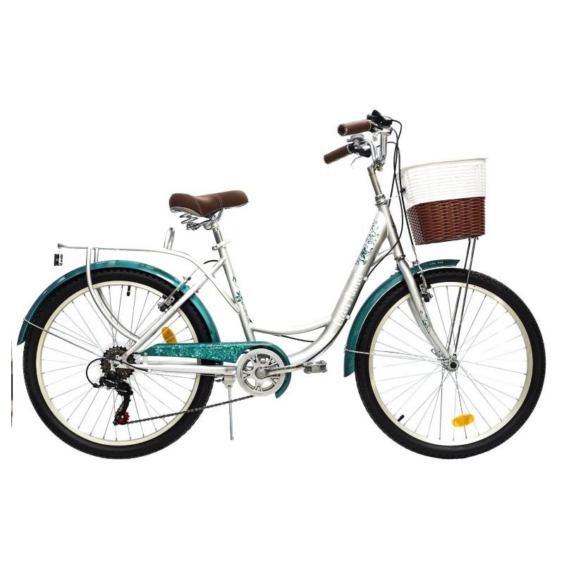 GREEN PLANET - Bicicleta Green Planet Cisnes 24