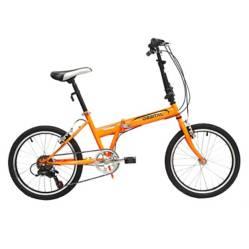 Bicicleta Orbital Folding Aro 20 Naranjo
