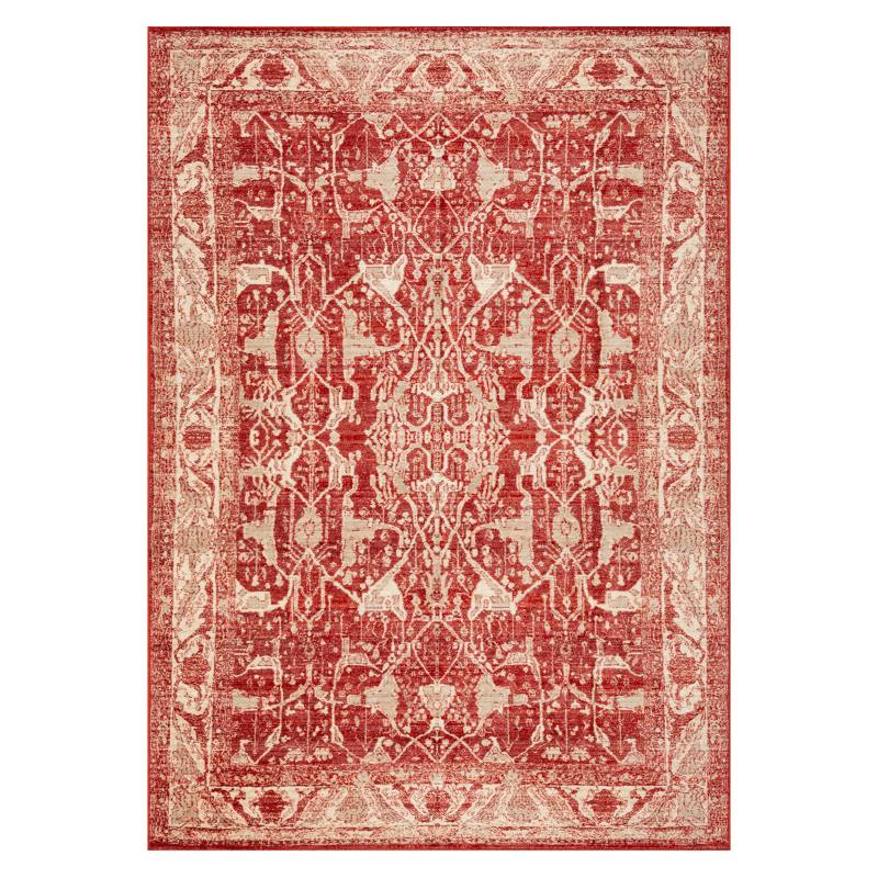 IDETEX - Alfombra Vintage Sun Red 4