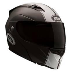Casco Moto Bell Mat Blk/Wht