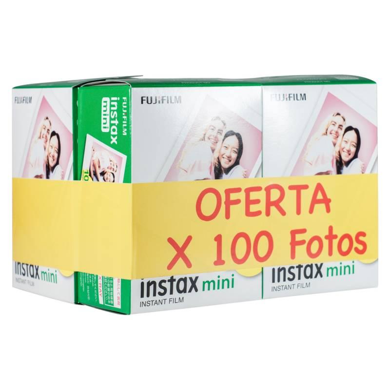 FUJI - Pack Instax Film Mini 100 Fotos