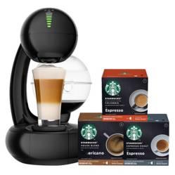 STARBUCKS - Cafetera Esperta y Starbucks para disfrutar X3 CJ