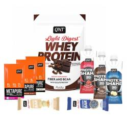 Pack Welly Box Proteína Light Digest Chocolate