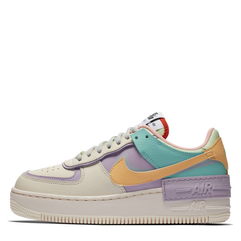 air force 1 shadow mujer pastel