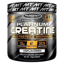Creatina Platinum 100% Creatine 100 Gramos