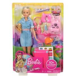 Barbie - EXPLORA Y DESCUBRE  VIAJERA