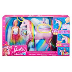Barbie - Unicornio de Luces Magicas