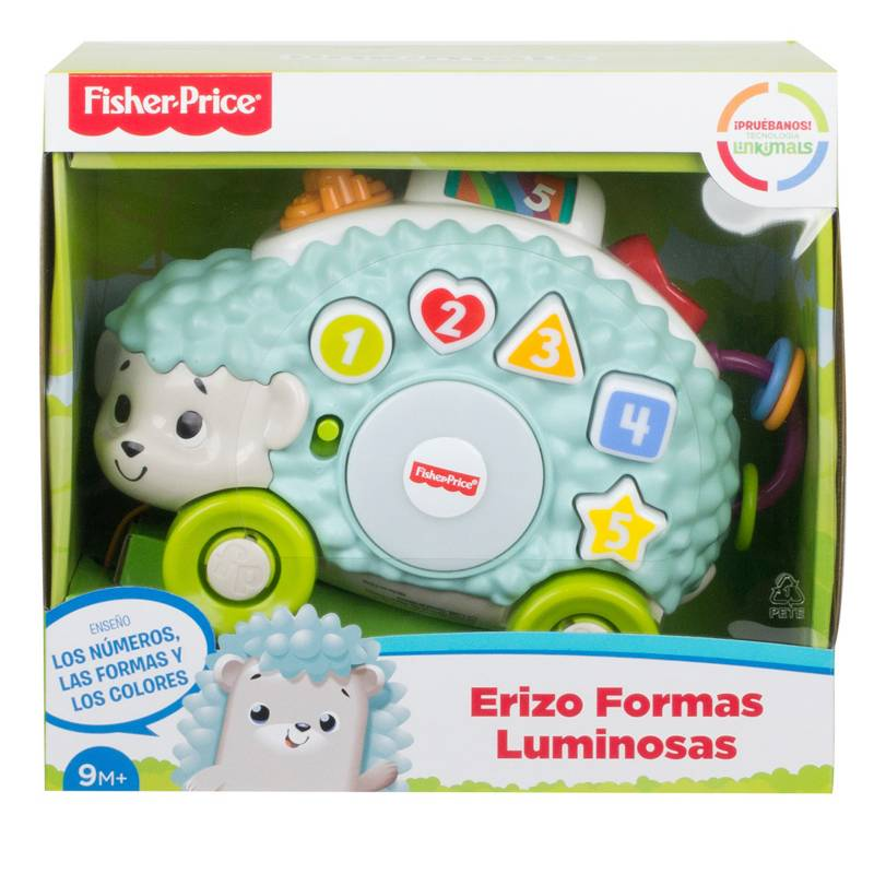 Fisher Price - Linkimals Erizo Formas Luminosas