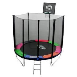 Cama elástica 8Ft  2.44Mt  + Set Basketball GlowUp