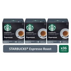 STARBUCKS - Cápsulas Espresso Roast, x3 Cajas.