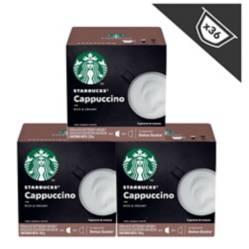 STARBUCKS - Cápsulas Cappuccino, x3 Cajas