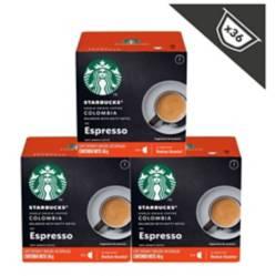 STARBUCKS - Espresso Colombia, x3 Cajas