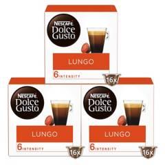 NESCAFE DOLCE GUSTO - Dolce Gusto Capsulas Café Lungo x3 Cajas