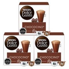 NESCAFE DOLCE GUSTO - Dolce Gusto Cápsulas Chococino x3 Cajas