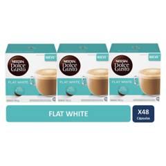 NESCAFE DOLCE GUSTO - Dolce Gusto Cápsulas Flat White x3 Cajas