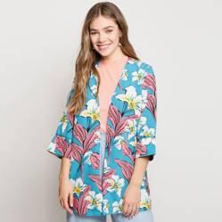 Blazer Kimono Flores