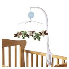 NOJO - Movil para cunas de madera o barrotes Baby Safari