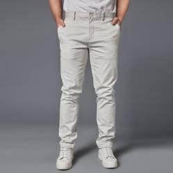 Perry Ellis - Pantalón Slim Fit de Algodón Hombre