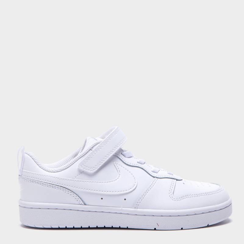 Nike - Court Borough Low 2 (Psv) Zapatilla Urbana Blanca