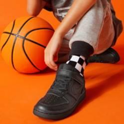 Nike - Court Borough Low 2 (Psv) Zapatilla Unisex Cuero Negra