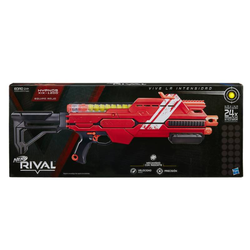 Nerf - Rival Hypnos Xix 1200 Red
