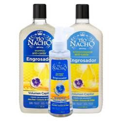 TIO NACHO - Pack Tío Nacho Engrosador Shampoo + Acondic + Tratam