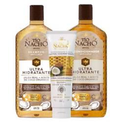 TIO NACHO - Ultra Hidratante Shampoo Acond. y Tratam