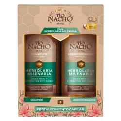 TIO NACHO - Pack Herbolaria Shampoo + Acondicionador