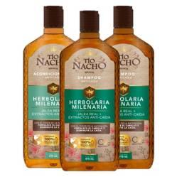 TIO NACHO - Herbolaria 2 Shampoo + 1 Acondicionador