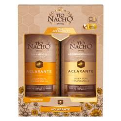 TIO NACHO - Pack Aclarante Shampoo + Acondicionador