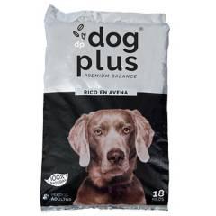 DOG PLUS - Alimento Mascotas Premiun con  Avena , 100% Nat.