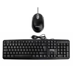 URBANO DESIGN - Kit Teclado + Mouse alámbrico