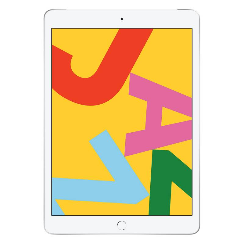 "Apple - iPad 10.2"" 32GB WiFi + 4G LTE Silver"
