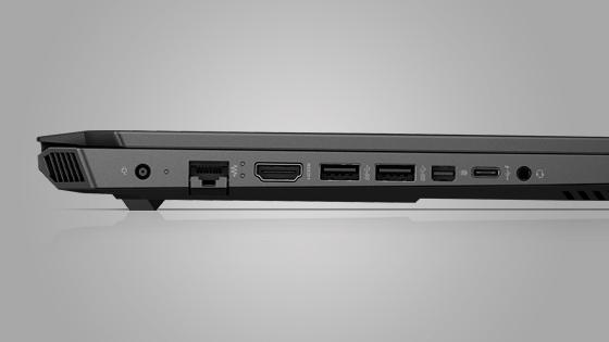 Notebook Omen 15-dh0005la Intel Core i7 512GB, Angulo Frontal